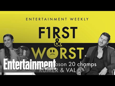 Rumer & Val tell EW their First and Worst dance moves