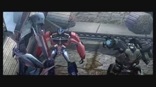 Transformers Prime The Game Wii U stage 7