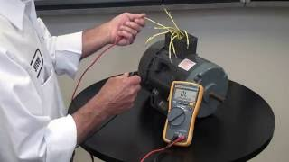 Identifying 230 and 460 Connections - York Repair Inc - YouTube   Name Platw 480 Motor Wiring Diagram      YouTube