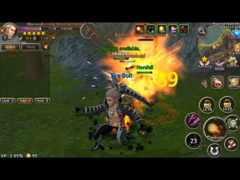 No Auto!! Best MMORPG | World of Prandis Android iOS Gameplay and Download