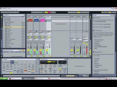 REASON 4.0 , Ableton LIVE 8 Prizm Foundation-