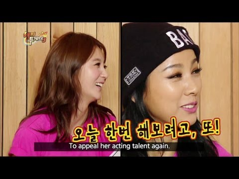 Happy Together - Bad Girl Hyori's Disclosure: Lee Hyori, Ahn Hyekyung, Yoni & more! (2013.06.26)