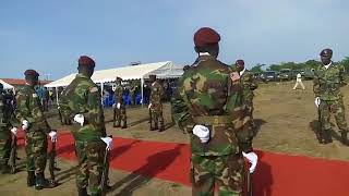 President George Weah Breaks Ground for First Military Hospital