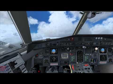 PMDG J41 Multi Crew Experience! De Ice Flows! Innsbruck to Zurich REX Weather!