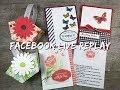 FB Live Replay 3.17.19