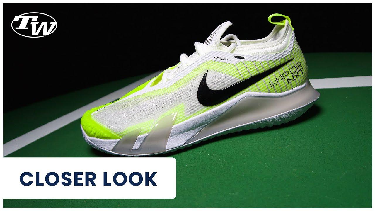 Take a Closer Look at the Nike Court React Vapor NXT Tennis Shoes! (worn by Aryna Sabalenka)