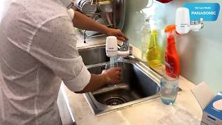 Hướng dẫn lắp đặt vòi và uống thử nước sau lọc