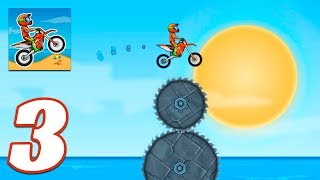Moto X3M Bike Race Game levels 26-35 - Gameplay Android & iOS game - moto x3m