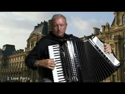 Under Paris Skies French Accordion Medley Lee Terry Meisinger Accordeon Fisarmonica