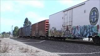 C44-9W BNSF - Fast Freight Train