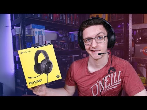 Corsair HS35 CHEAP Gaming Headset Review