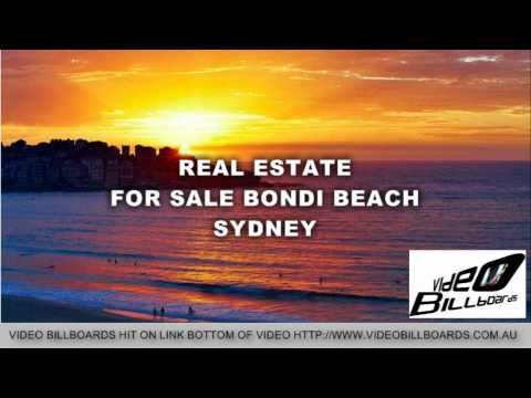 REAL ESTATE FOR SALE BONDI BEACH SYDNEY