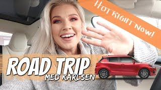 Eveline Karlsen: ROADTRIP MED NY MUSIKK (Hot Right Now)
