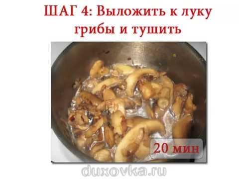 Мясо с шампиньонами и сметаной