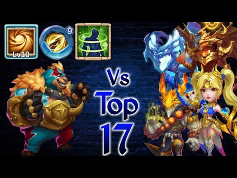Jumbear Vs Top-17 😲 | Tank..? | 10 Sacred Light | 9 ZD | Holy Conviction | Castle Clash