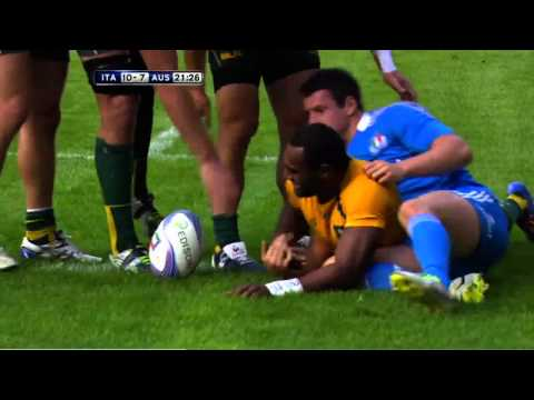 Australia vs Italy End of Year Tour Highlights 2013 HD