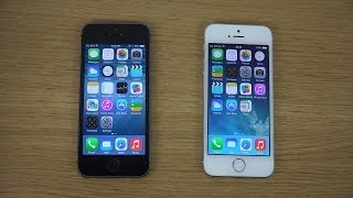 iPhone 5S iOS 8 Beta 2 vs. iPhone 5S iOS 7.1.1 Review
