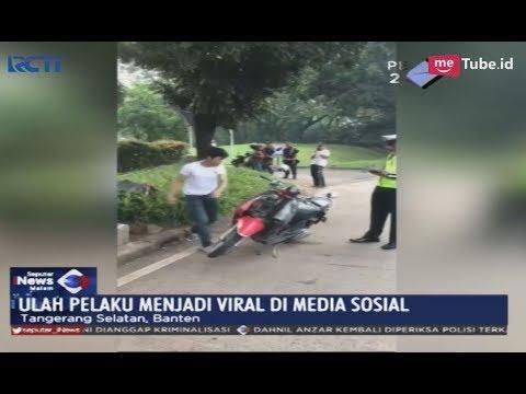 Bentuk Aksi Penolakan Ditilang Polisi, Pemuda Ini Marah dan Rusak Motor Kekasih - SIM 07/02