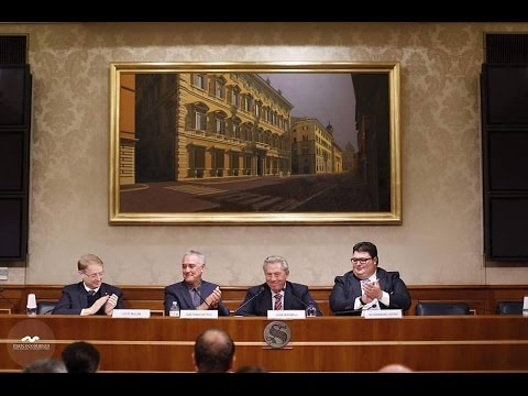 PRESS CONFERENCE JOHN MAXWELL- ITALIAN SENATE - 13 ottobre 2016
