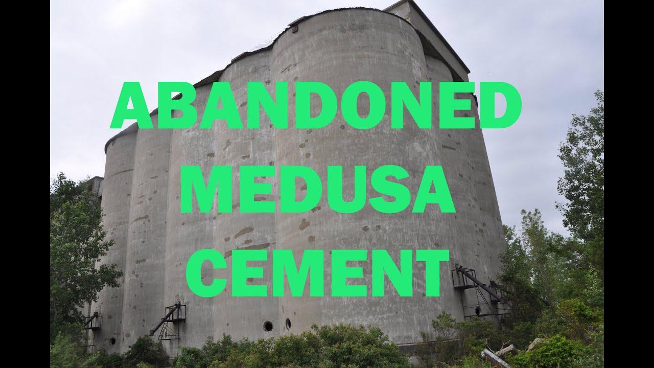 Medusa Cement Company : Abandoned medusa cement company youtube