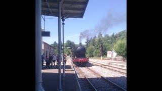 Train à vapeur Limoges Eymoutiers