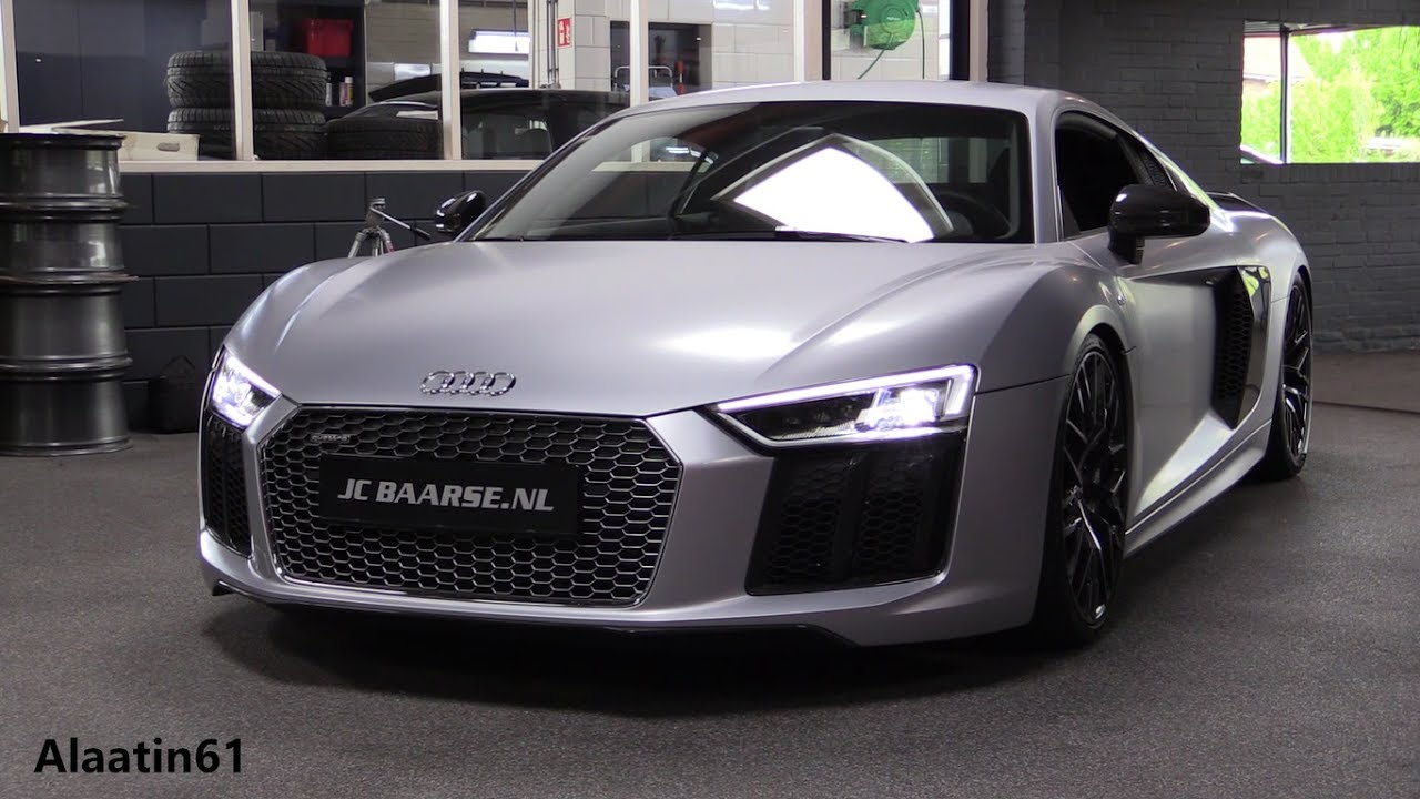 audi r8 v10 plus 2017 in depth review interior exterior. Black Bedroom Furniture Sets. Home Design Ideas