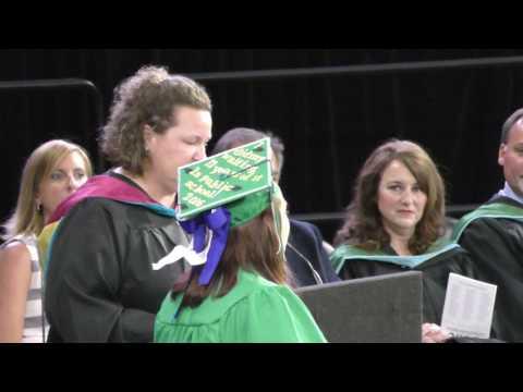 Lisa Graduating Lapeer High School