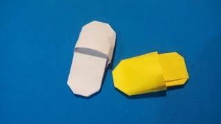 как сделать сандали из бумаги