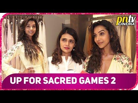 Anupriya Goenka Talks About Sacred Games & Upcoming Films & Web Series At A Summer Splash Launch