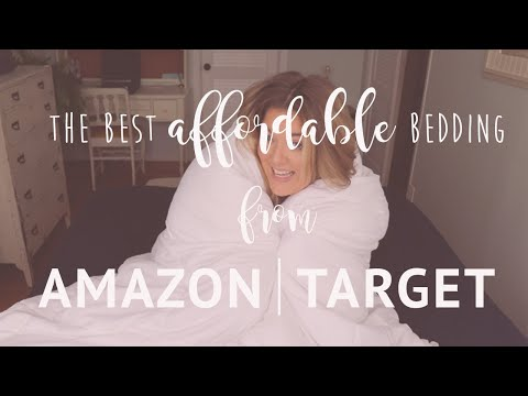 Favorite Bedding From Amazon, Target, Big Lots, Sam's Club, Roca Home Newplaids // FARMHOUSE