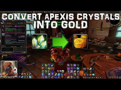 WoW 6.2.4 Gold Guide - Convert Apexis Crystals Into Gold!