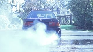 How to find out if your car has an LSD.... BURNOUT