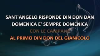 Mario Riva - Domenica E' Sempre Domenica (Video karaoke)