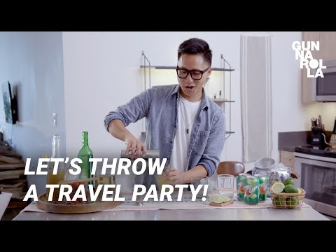 Easy Cocktail & Dips Recipes | Travel-Themed Party with 7UP