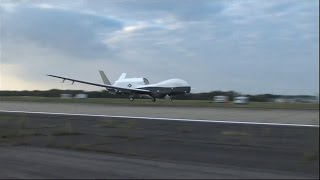 MQ-4C Triton arrives at Patuxent River, Md.