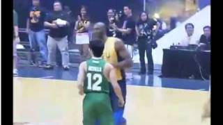 Kobe Bryant playing with UAAP All Stars vs Smart Gilas