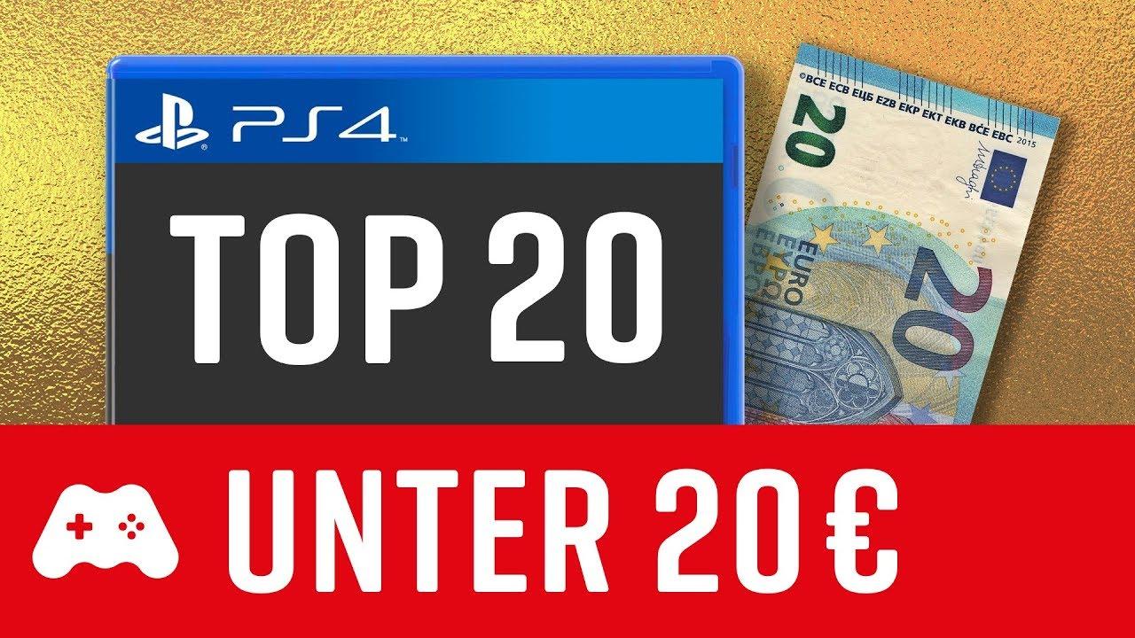 20 gute PS4 Spiele unter 20€! ►Playstation 4 Games