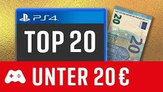 20 gute PS4 Spiele unter 20€! ►Playstation 4 Games
