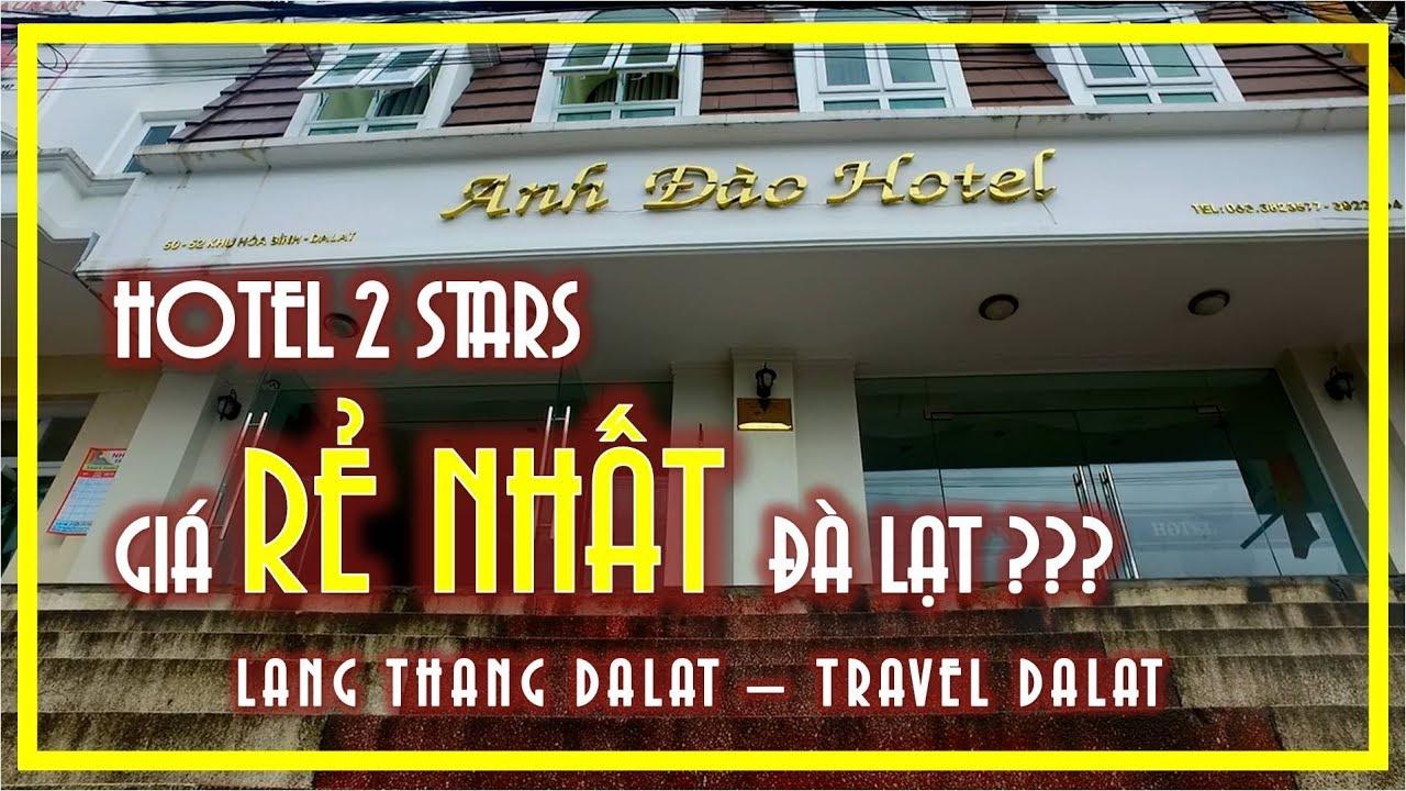 CÙNG REVIEW KHÁCH SẠN 2* GIÁ RẺ NHẤT ĐÀ LẠT ? HOTEL ANH DAO DALAT | TRAVEL DALAT VIETNAM