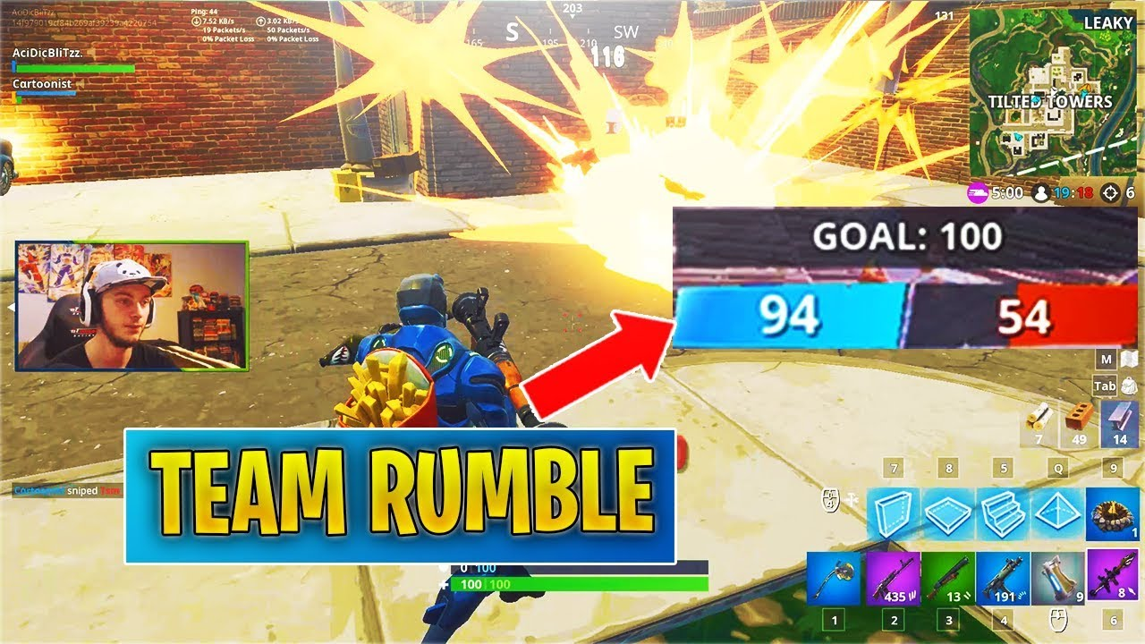 *NEW* Fortnite Team Rumble LTM! (First Experience)