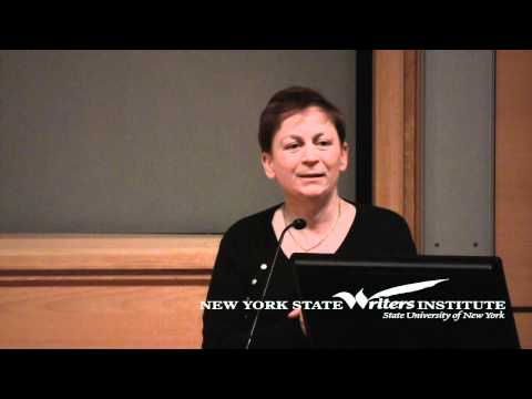 Anne Enright at the NYS Writers Institute in 2012
