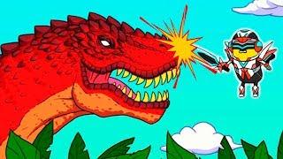Приключение КОСМИЧЕСКОГО БАНАНА в ЮРСКОМ ПЕРИОДЕ! Веселая игра Банатун 2 от Cool GAMES