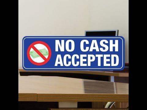 Gordon T Long: Elites' Goal of Cashless Society Has Started War on Cash