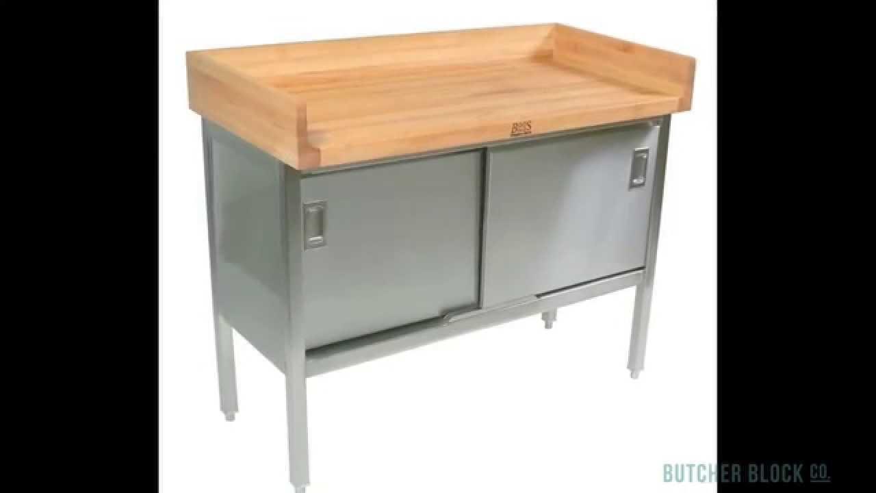 john boos wood u0026 steel commercial work tables butcher block co