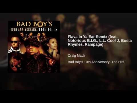 Flava In Ya Ear Remix feat Notorious BIG, LL Cool J, Busta Rhymes, Rampage