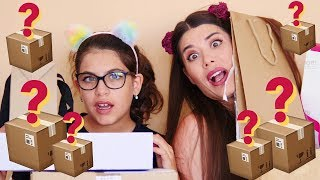 SUPER UNBOXING WITH MY LITTLE SISTER!