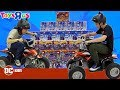 """Driving Through a Wall of Toys!! Toys """"R"""" Us Challenge 