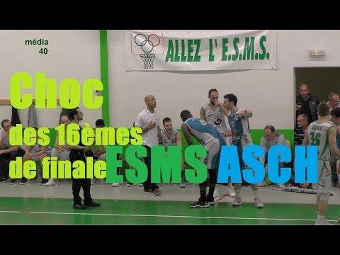 BASKET Coupe des Landes choc ESMS vs ASCH