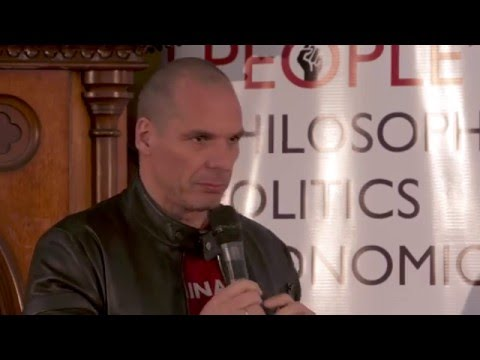 Yanis Varoufakis: The Greek Financial Crisis Explained in 4 minutes