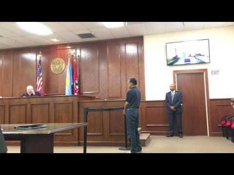VIDEO: Shurnue Bratton arraigned in Jackson City Court